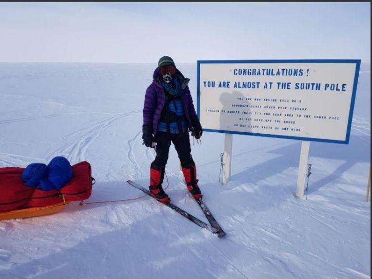 Aparna Kumar, IPS DIG, Indo Tibetan Border Police, South Pole, expedition