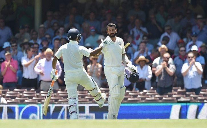 Cheteshwar Pujara has scored 3 centuries in the series