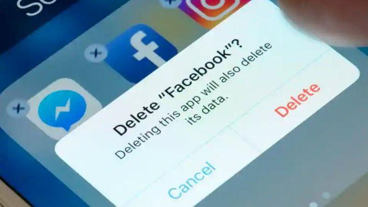 delete facebook doesn