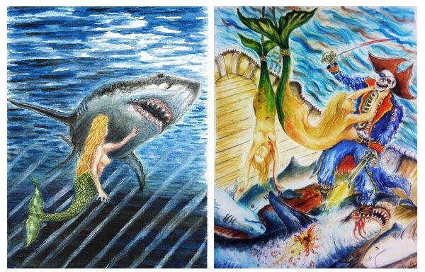 Disturbing Artworks By Serial Killers