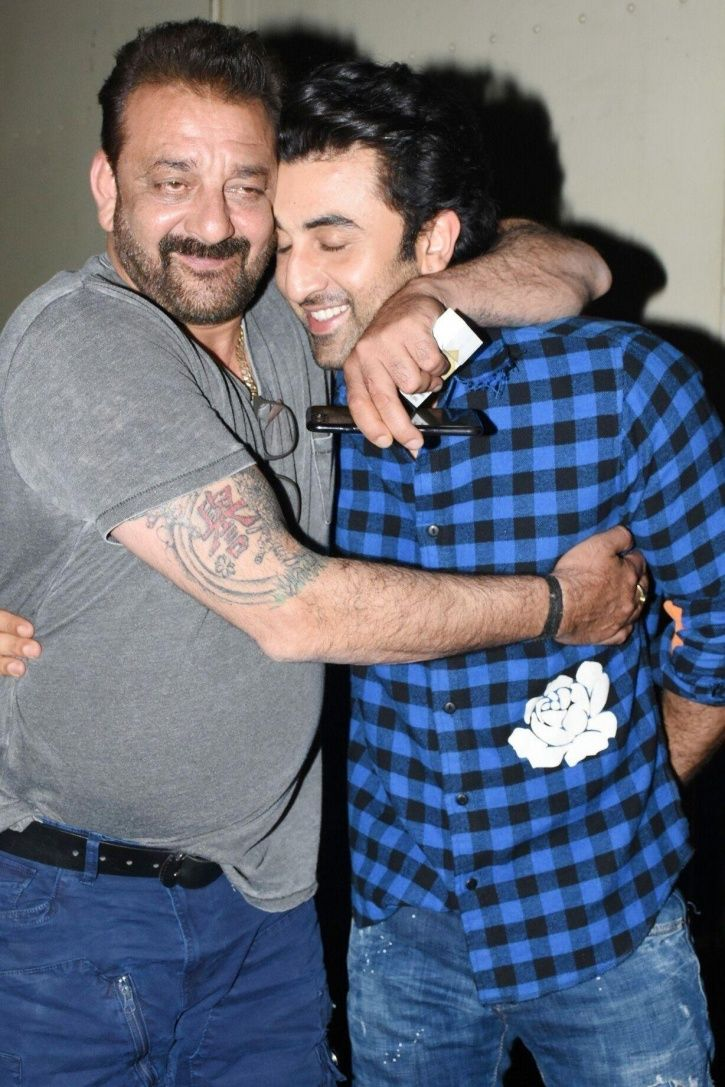 Dream Come True! Ranbir Kapoor To Share Screen Space With His 'Idol' Sanjay Dutt In 'Shamshera'