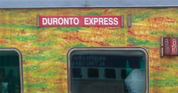 Duranto express robbers loot
