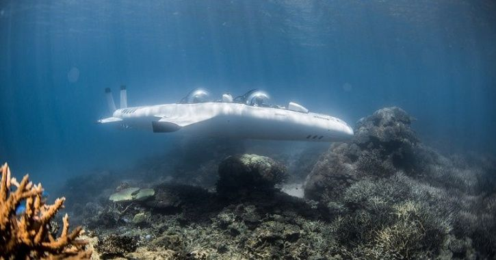 Electric Submarine, Electric Vehicle, Electric Underwater Vehicle, DeepFlight Dragon, Technology New