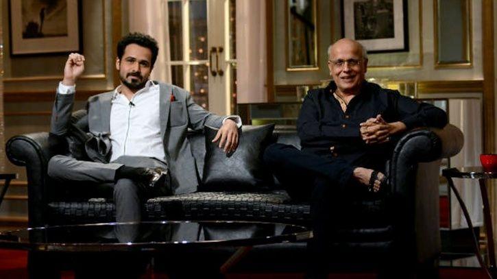 Emraan Hashmi on Koffee With Karan.