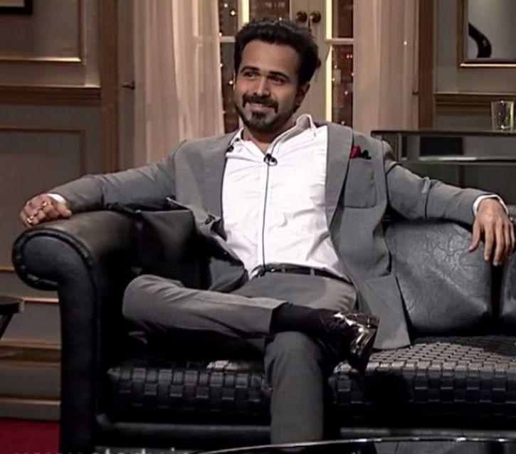 Emraan Hashmi on Koffee With Karan saying crass.