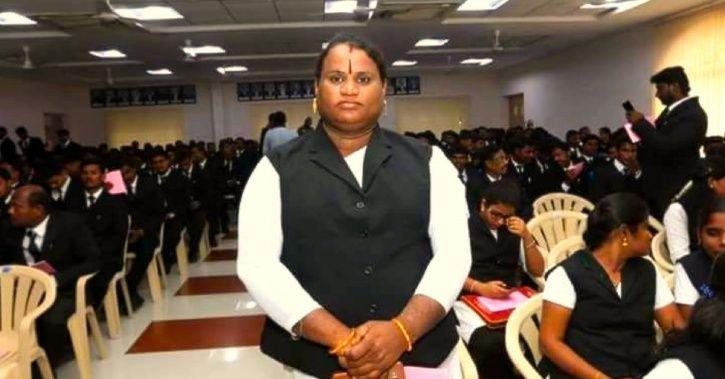 First transgender lawyer: Sathyasri Sharmila