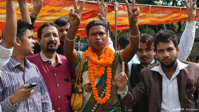 First transgender Mayor: Madhu Bai Kinnar