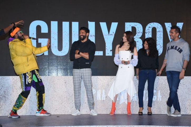 Gully Boy Trailer Launch