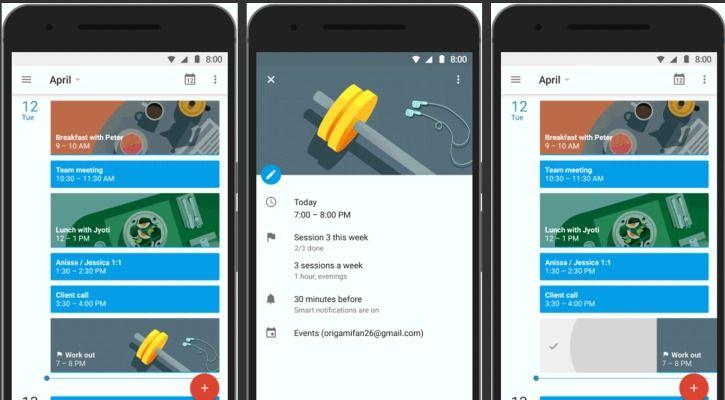 habits apps Google Calendar