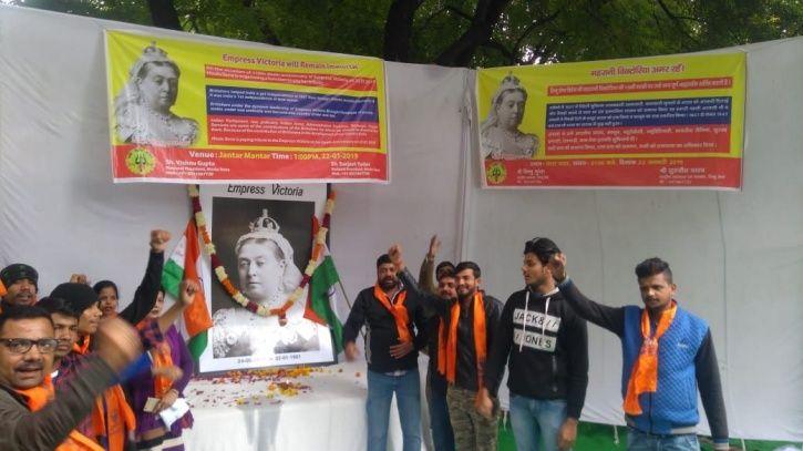 Hindu Sena Vishnu Gupta, Queen Victoria