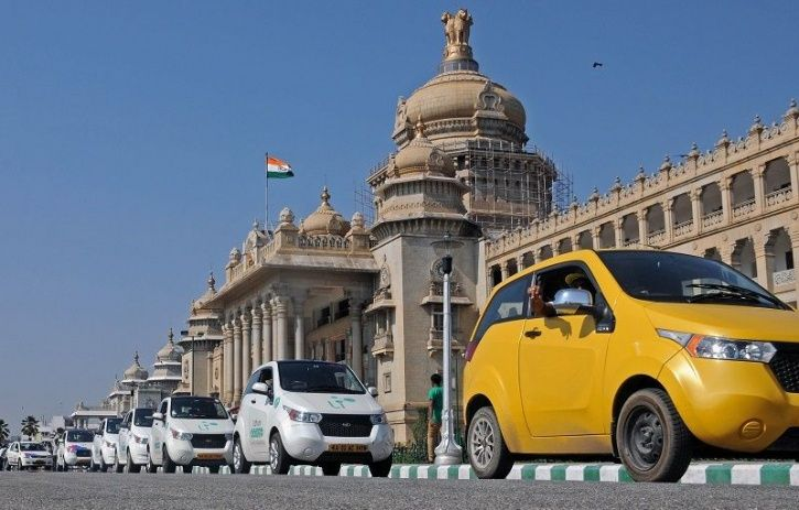 India Electric Vehicles, Blu-Smart, Gensol Mobility, Tata Motors, Mahindra, EV Taxi Service, Electri