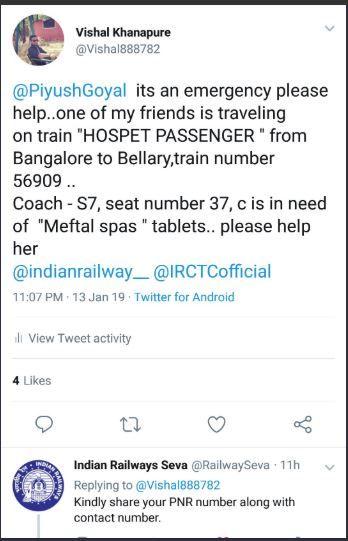 Indian Railways, sanitary napkin, Bengaluru, Bellary, female friend, Hospet train, Mysuru