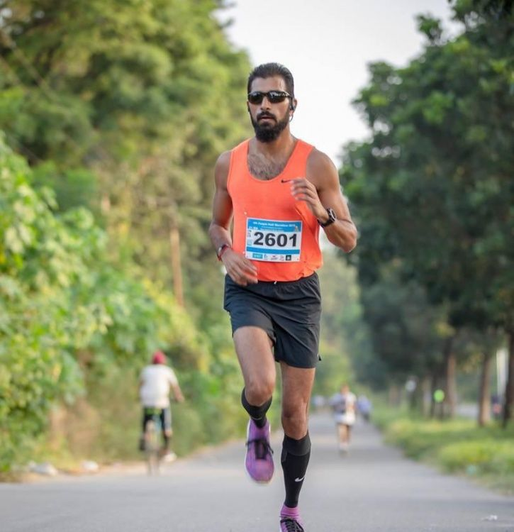 Keshav Maniktahla loves to run