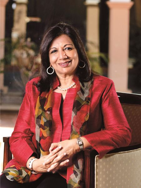 Kiran Mazumdar Shaw, Charity