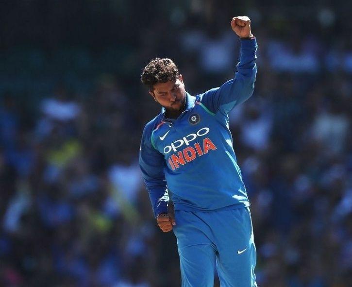 Kuldeep Yadav took 4 wickets
