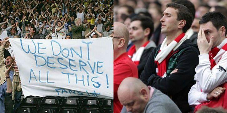 Leeds United fans are violent at times