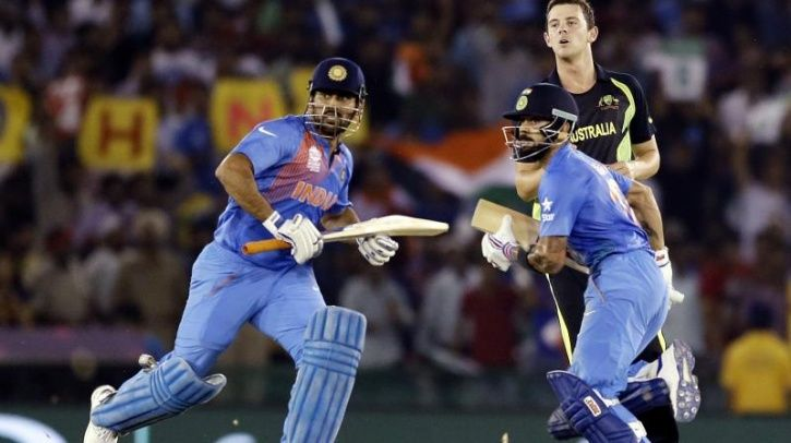 MS Dhoni is a fast runner.