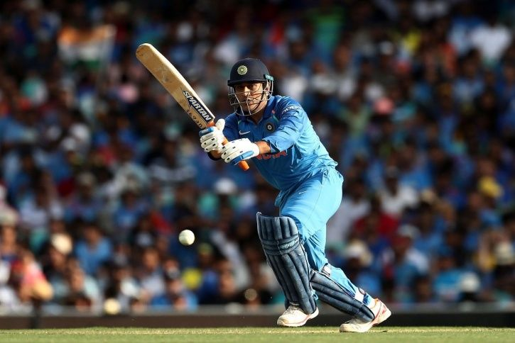 MS Dhoni made 87 not out
