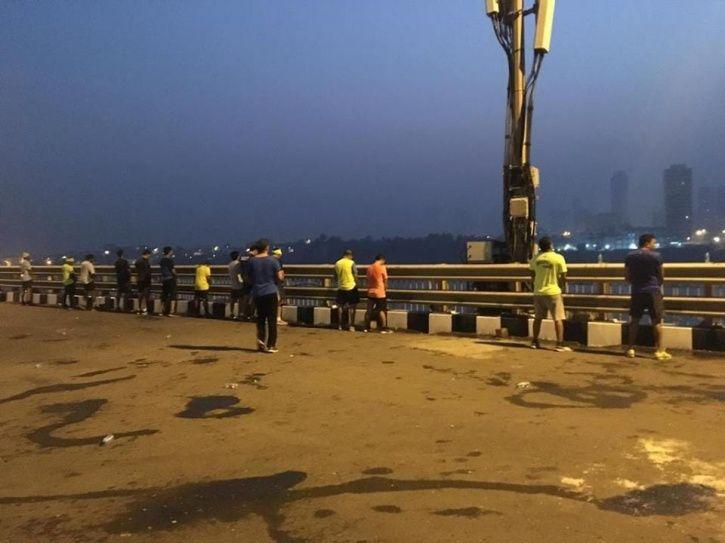 Mumbai Mrathoners were peeing