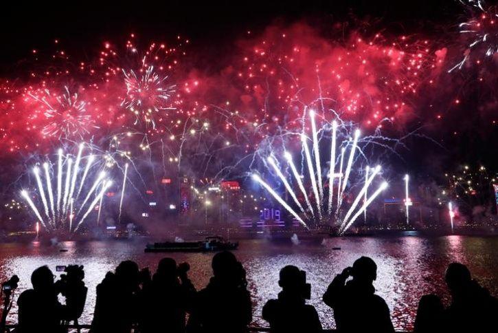 New Year, Hong Kong