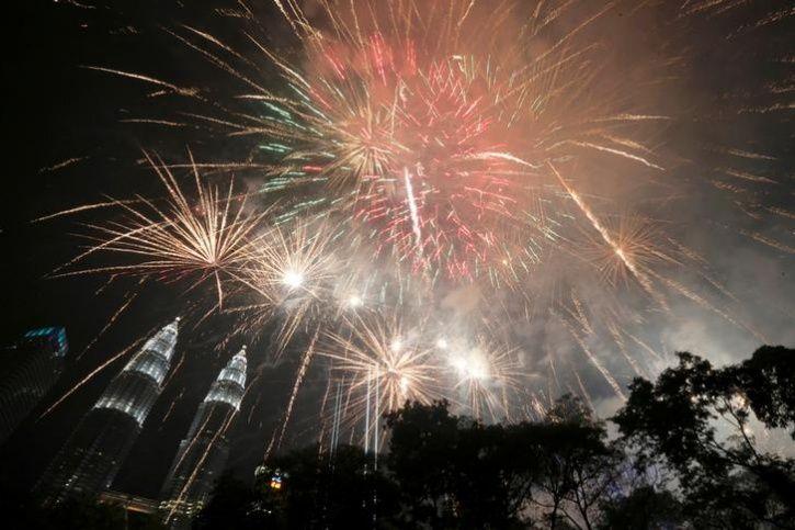 New year, Thailand
