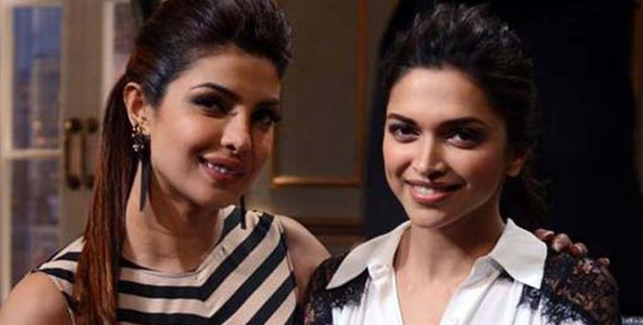 Priyanka Chopra and Deepika Padukone on Koffee With Karan.