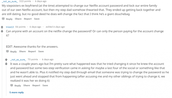 Netflix:Guy's Ex's Friend Texted Him To Recharge His Netflix Account