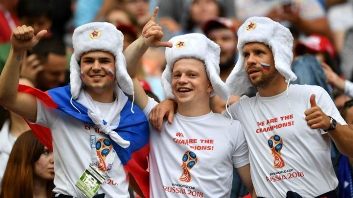 russia fifa world cup fans