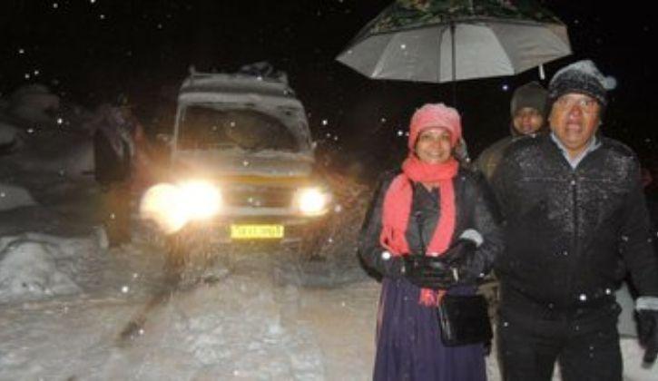 Sikkim Snowfall