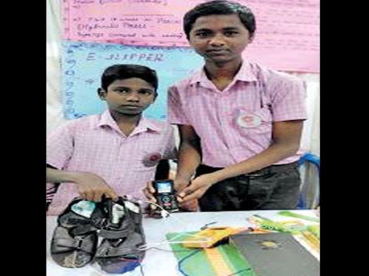 Tamil Nadu, e-slippers, Tiruttani village, S Parthiban, streetlights, South indian states science fa