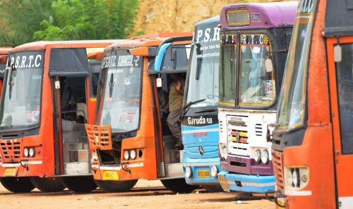 telangana bus, driver, passengers, telangana bus driver