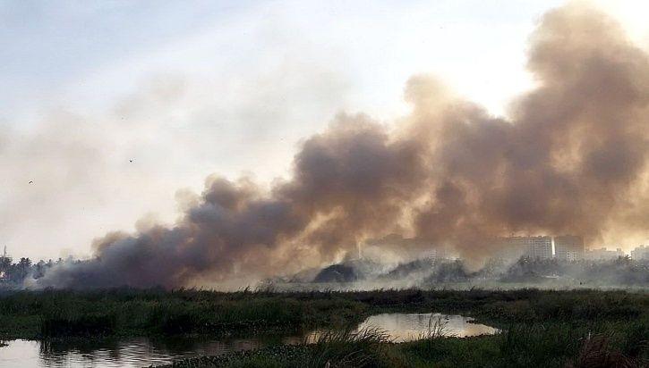 Varthur Lake Fire