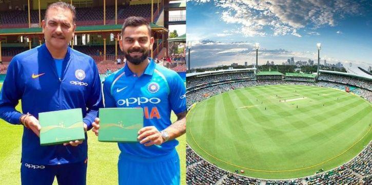 Virat Kohli and Ravi Shastri have got honorary life membership at SCG