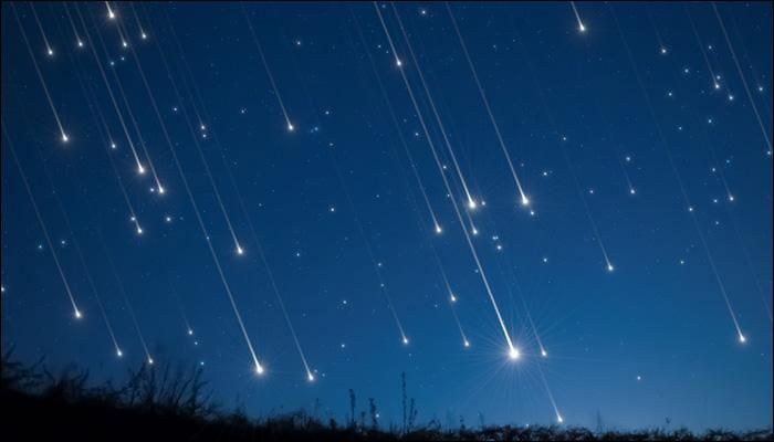 We have all heard of a meteor shower. A celestial event in which a number of radiating meteors enter