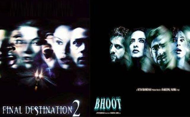 bollywood copying hollywood
