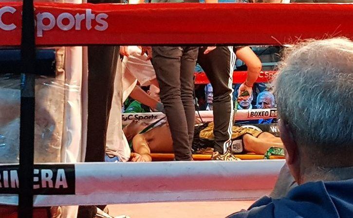 boxer Hugo Santillan die