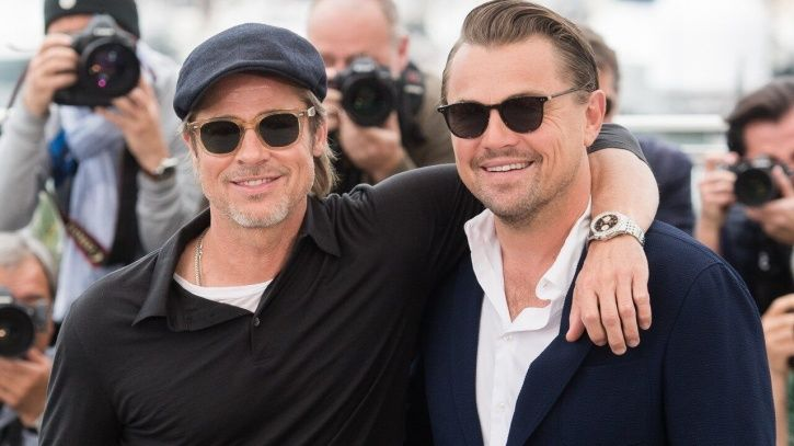 Brad Pitt Teases Leonardo DiCaprio About The 'Titanic' Door Controversy & It's Hilarious!