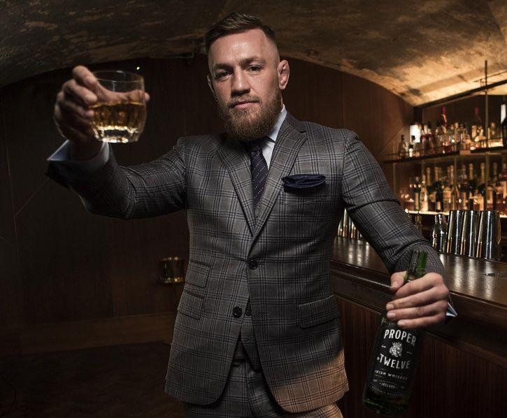 Celebrity alcohol brands: Connor Mcgregor