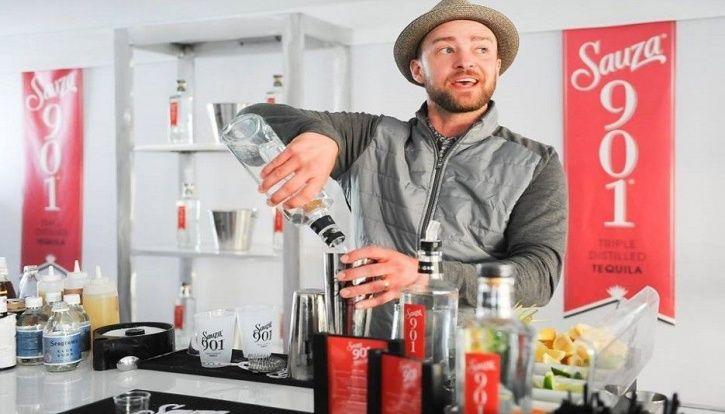 Celebrity alcohol brands: Justin Timberlake