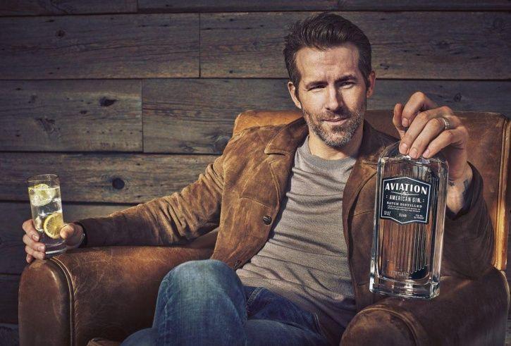 Celebrity alcohol brands: Ryan Reynolds