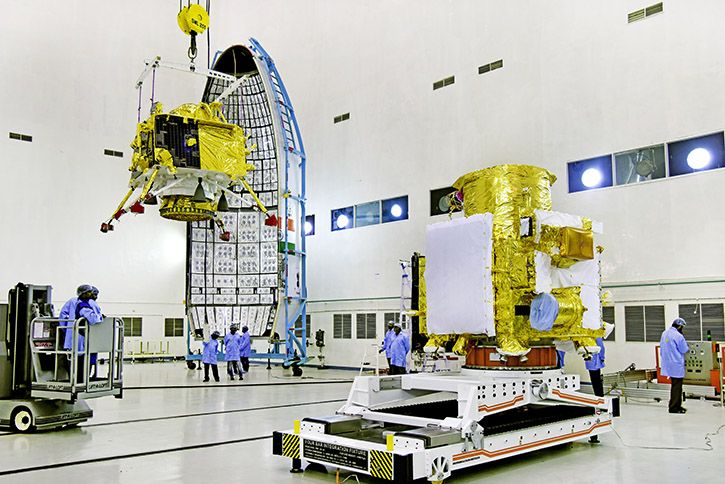 Chandrayaan 2 integration GSLV Mk3