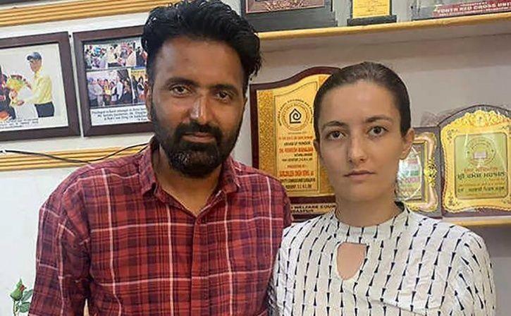 danish woman married punjab drug addict