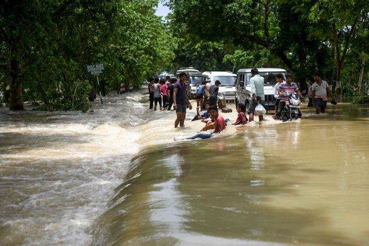 Death Toll In Bihar Flood Crosses 80, Over 55 Lakh Affected; Lakhs Of People Living In Camps