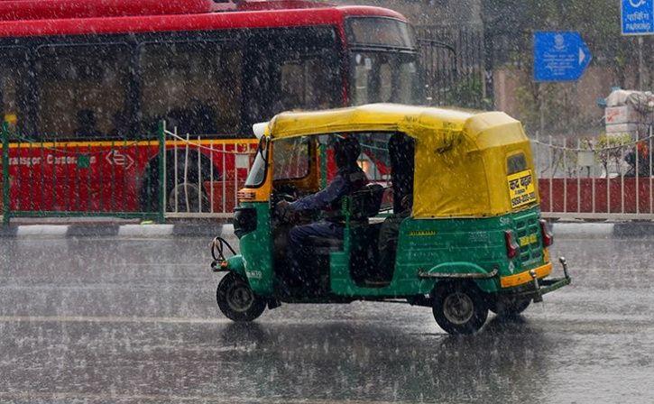 Dehli rain