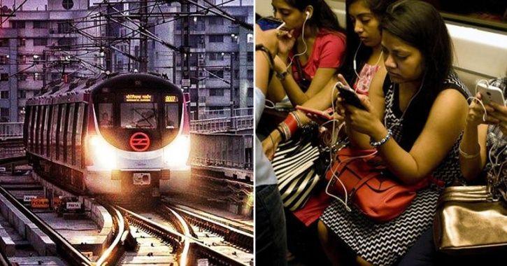 Delhi metro wifi