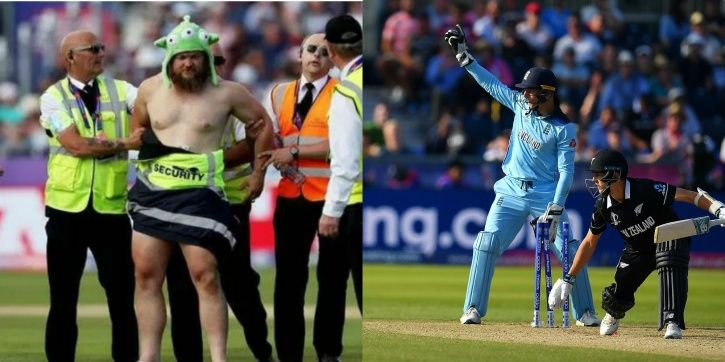 England and New Zealand players were surprised