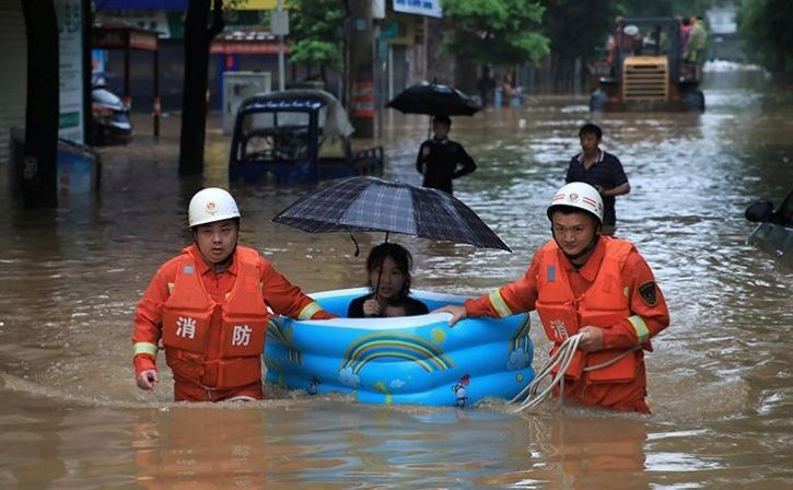 Flood Affected Pictures Around The World