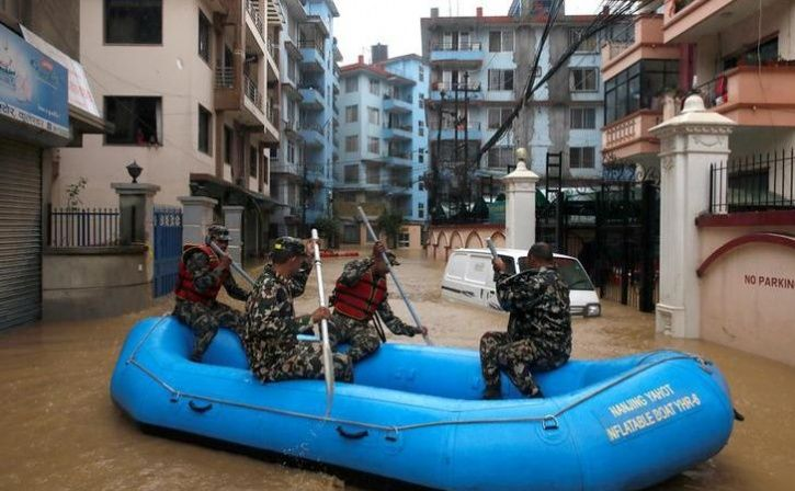 Flood In Nepal