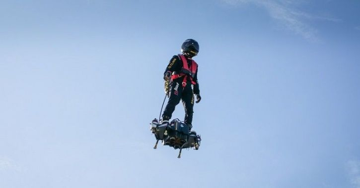 Flyboard Air, Flying Soldier, French Flying Soldier, Bastille Day Parade, French Army Flying Soldier
