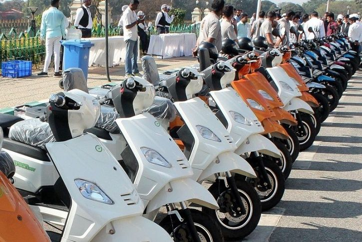 Grofers Electric Vehicles, Grofers EV Delivery Fleet, Grofers EV Services, Electric Vehicle Logistic